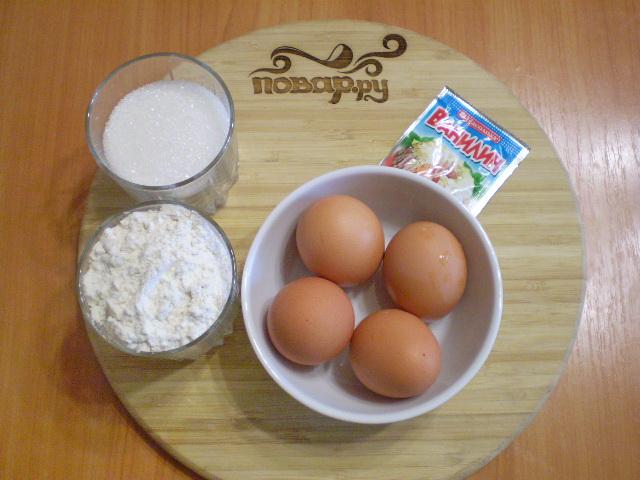 Рецепт Бисквитное тесто в мультиварке