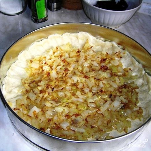 Постный пирог с капустой - фото шаг 11