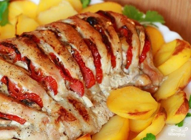 Мясо с тыквой в духовке пошаговый рецепт