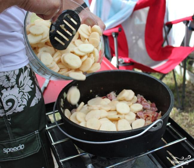 Картофель по-итальянски - фото шаг 3