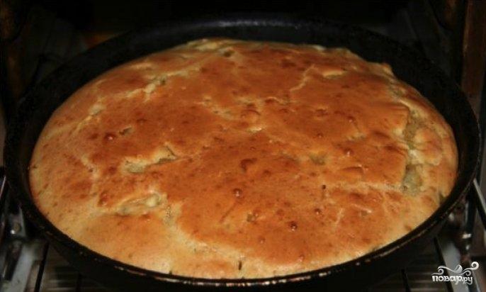 Ленивый пирог с картошкой - фото шаг 4