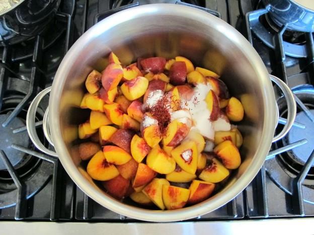 Рецепт Варенье из персиков с сахаром