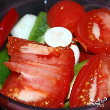 Свиная корейка с домашним кетчупом - фото шаг 2
