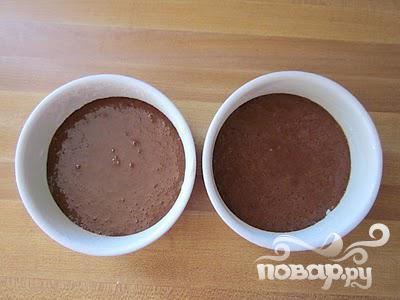 """Шоколадный десерт """"Для двоих"""" - фото шаг 3"""