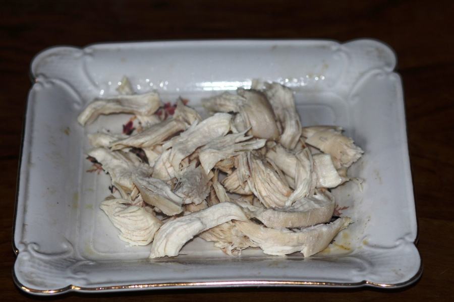 Простой салат с шампиньонами жареными - фото шаг 5