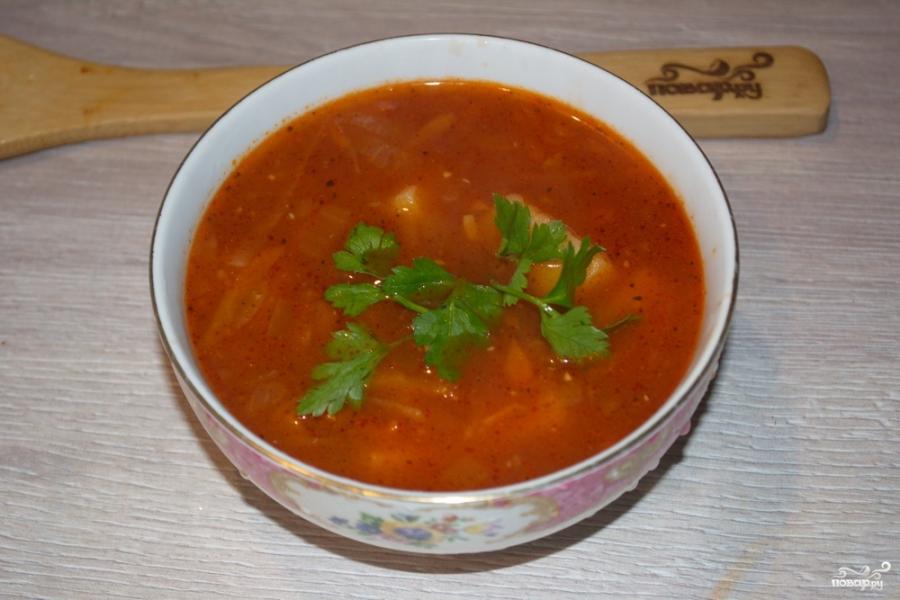 Томатный суп с сельдереем - фото шаг 10