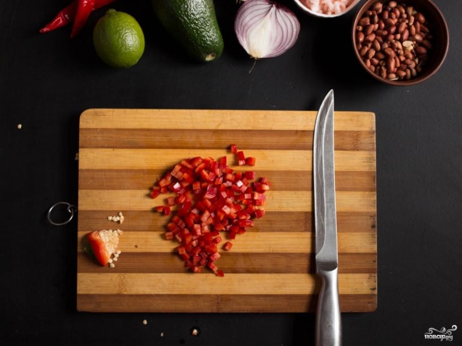 Начинка для тарталеток с креветками - фото шаг 1