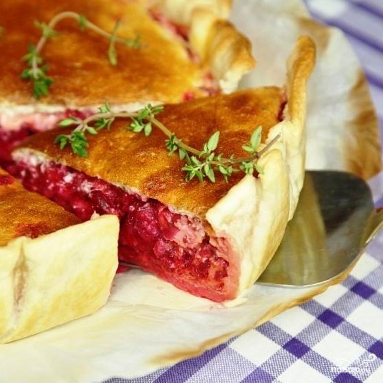 Пирог со свеклой рецепт