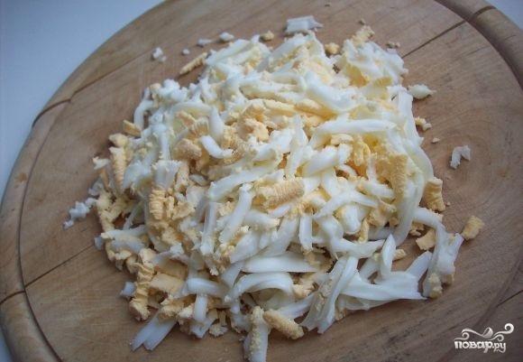 Пироги из слоеного теста с капустой - фото шаг 5