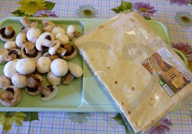 Рецепт Блинчики из лаваша