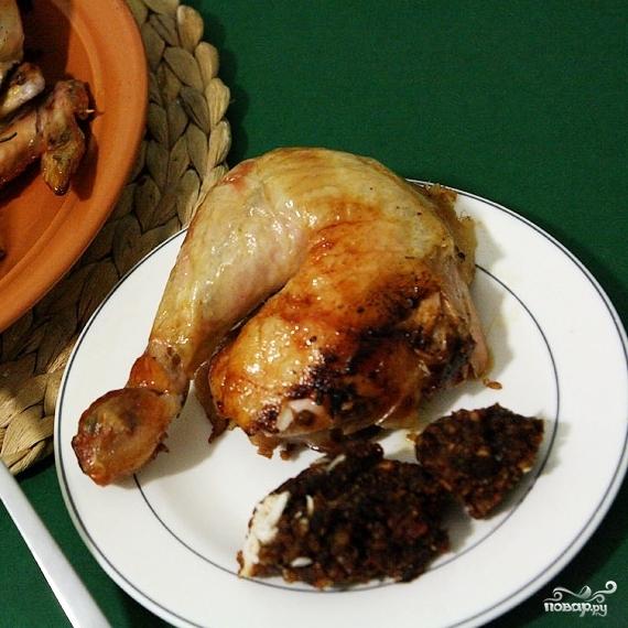 Новогодний цыпленок с финиками - фото шаг 8