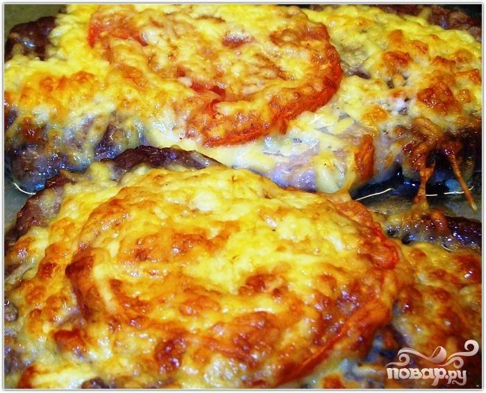 Рецепт Мясо по-французски в аэрогриле