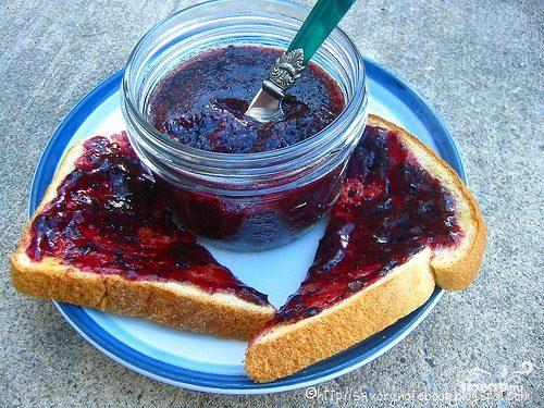 Рецепт Черничный десерт в мультиварке