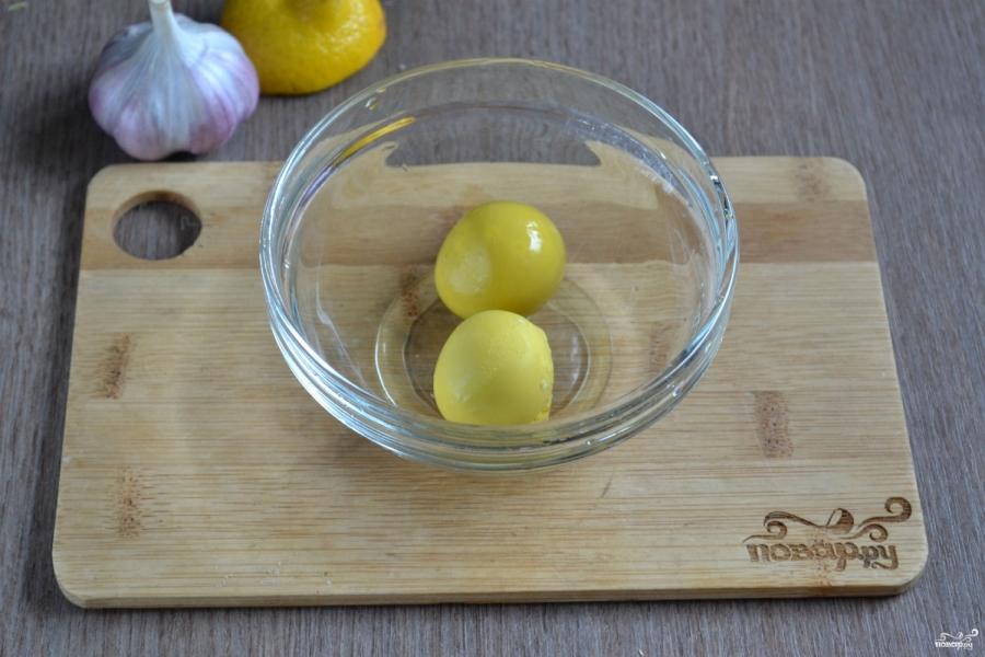 Картошка под чесночным соусом - фото шаг 3