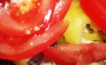 Салат с отварной грудкой  - фото шаг 5