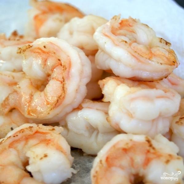 Рис с жареными креветками по-китайски - фото шаг 8