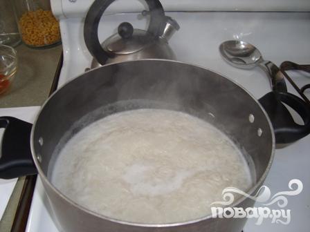 Креветки с имбирем и рисом - фото шаг 1