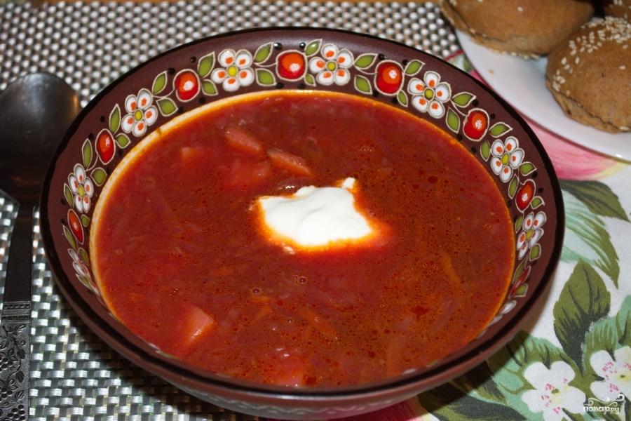 Вкусный борщ пошаговый рецепт