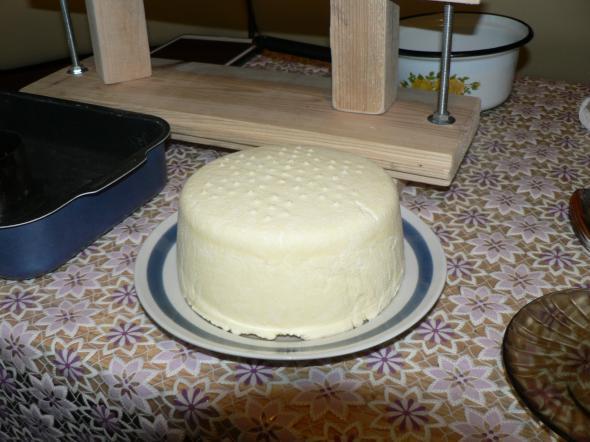 Сыр белорусский в домашних условиях - фото шаг 7