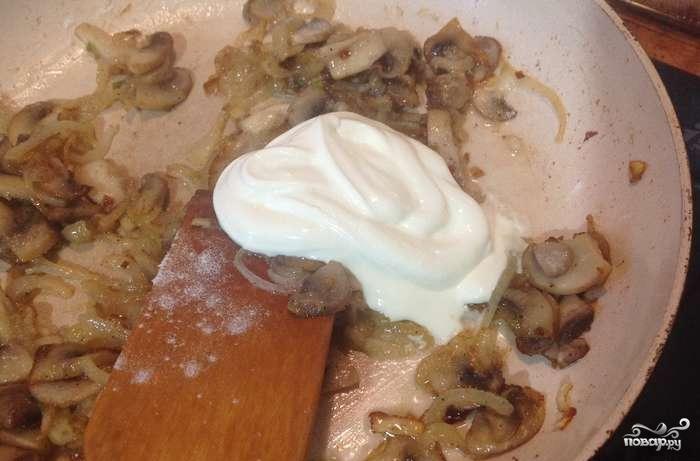 Гнезда фаршем рецепт сковороде фото