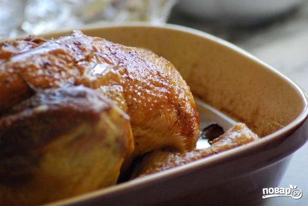 Петух, запеченный в духовке целиком - фото шаг 3