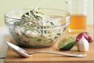 Салат с кольраби и репой