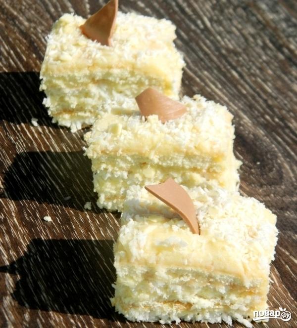 Кокосовое пирожное - фото шаг 14