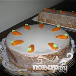 Морковный пирог Ааргау