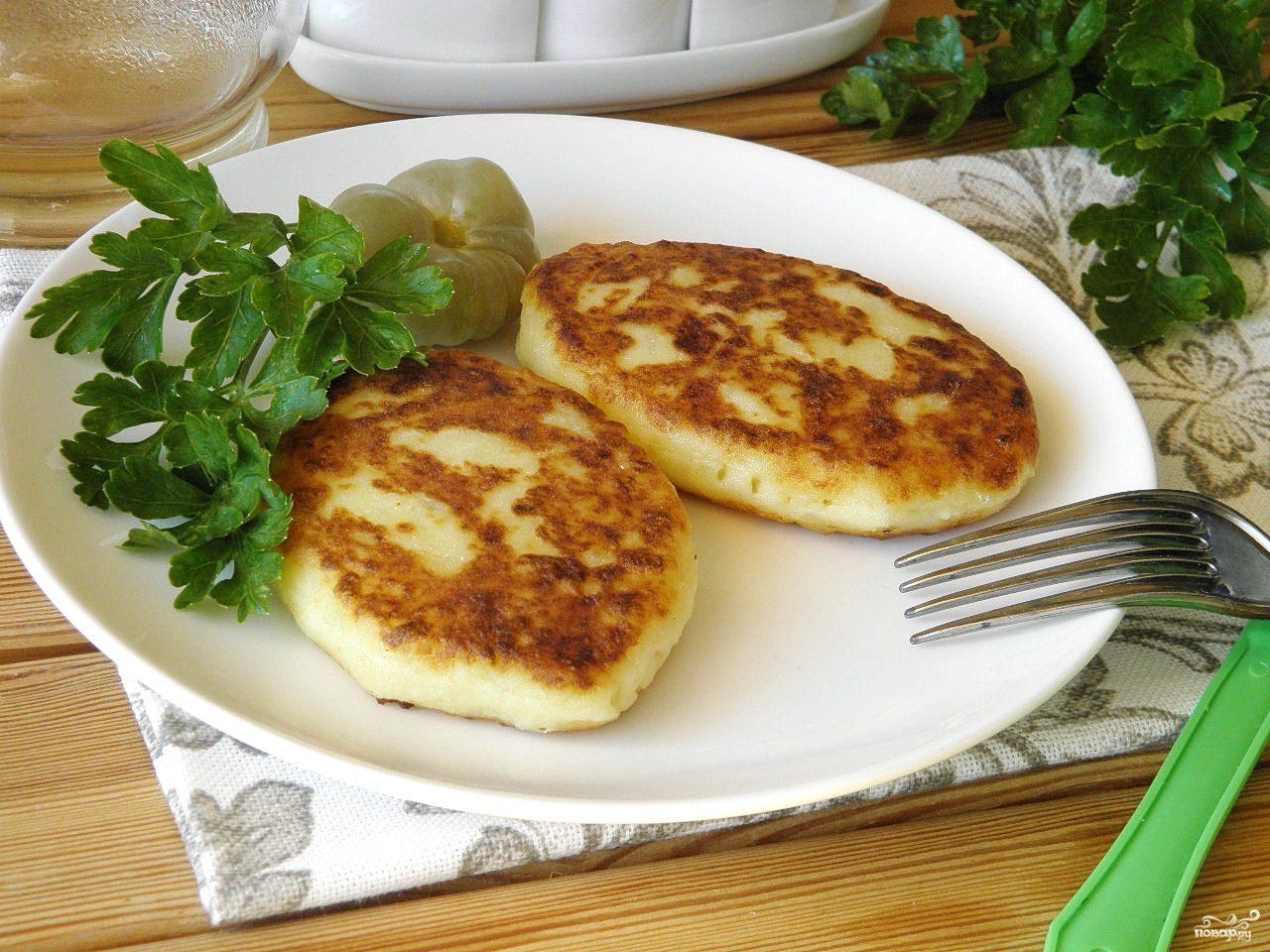 Картофельные пирожки пошаговый рецепт