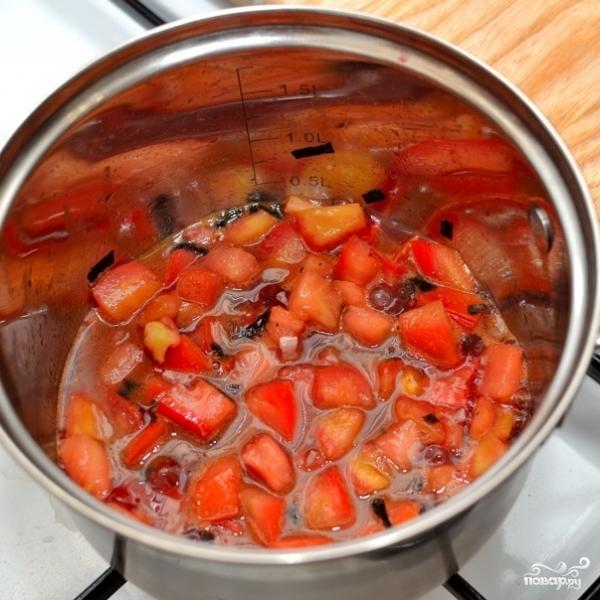 Паста с красным соусом - фото шаг 7