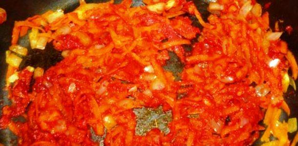 Томатный суп в мультиварке - фото шаг 1