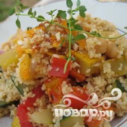 Рецепт 25-минутный овощной тунисский кус-кус
