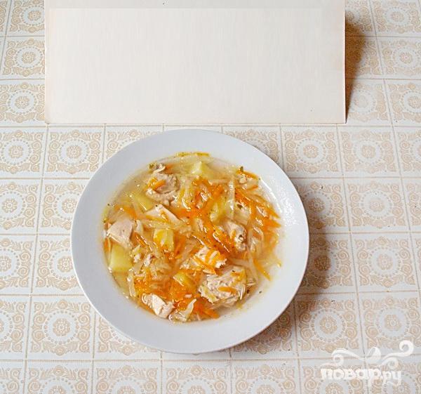 суп из риса и картошки с мясом рецепт