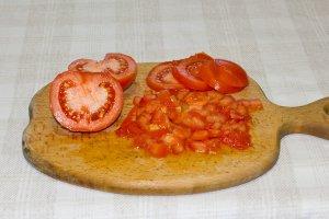 Вегетарианский салат с авокадо - фото шаг 3