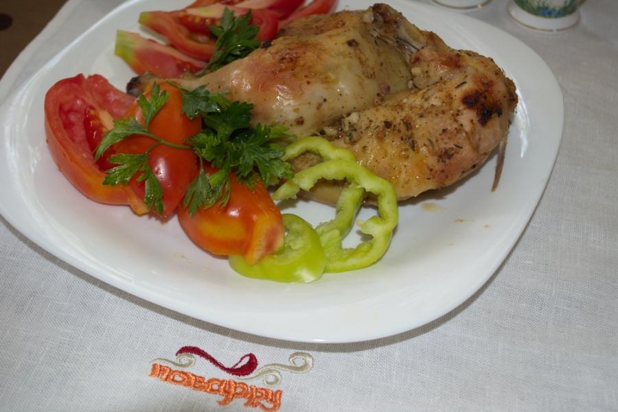 Диетическая курица в духовке - фото шаг 4