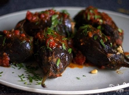 Рецепт Баклажаны по-ливански