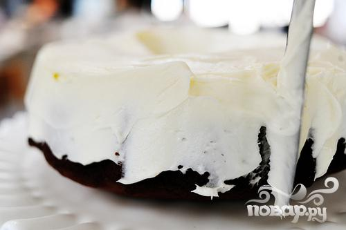 Томатный пирог со сливочной глазурью - фото шаг 6