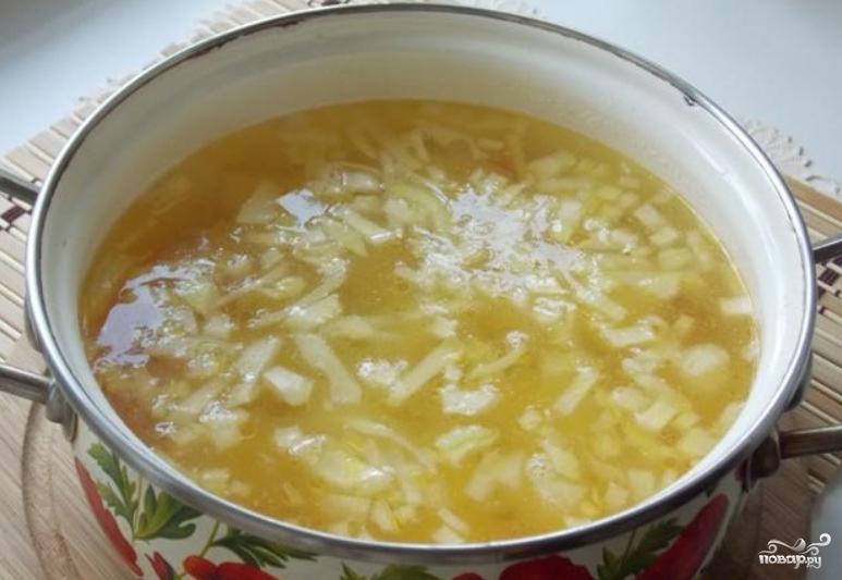 Суп из осетрины с картофелем - фото шаг 5