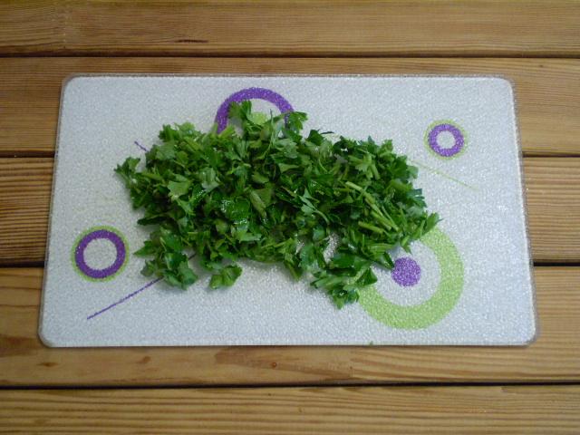 Салат зеленый - фото шаг 5