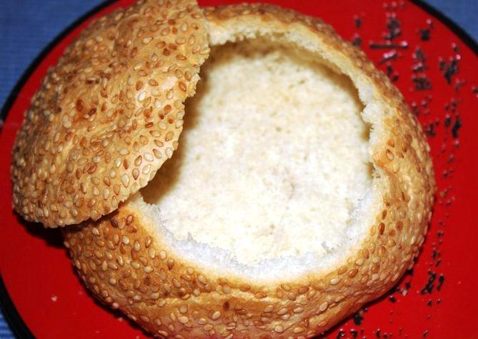 Салат в булочке - фото шаг 4
