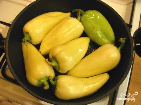 Рецепт Перец жареный с чесноком
