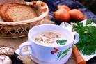 Грибной крем-суп по-фламандски