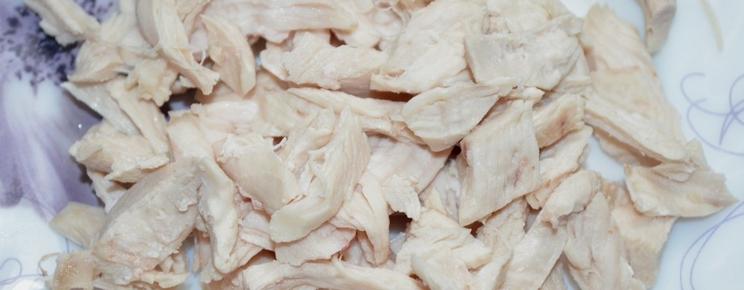 Салат с курицей и кальмарами - фото шаг 2