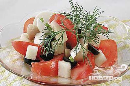 Рецепт Сицилийский салат