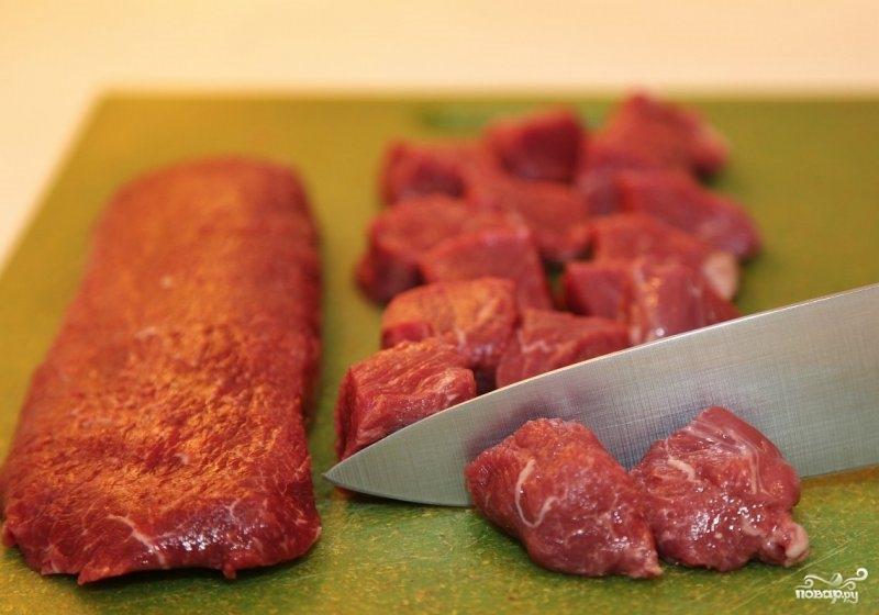 Рецепт Томатный суп с мясом