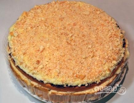 торт из бисквитных коржей рецепт фото