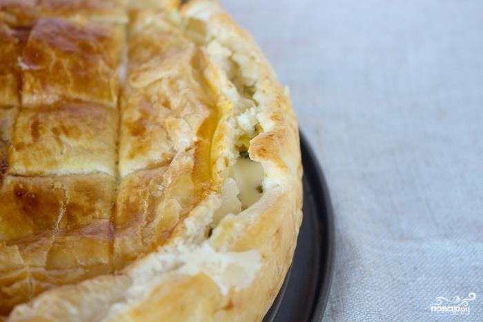 Закрытый пирог с картошкой - фото шаг 6