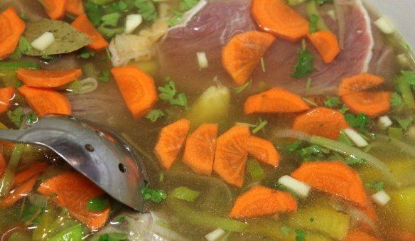 Суп из говядины и картофеля - фото шаг 11