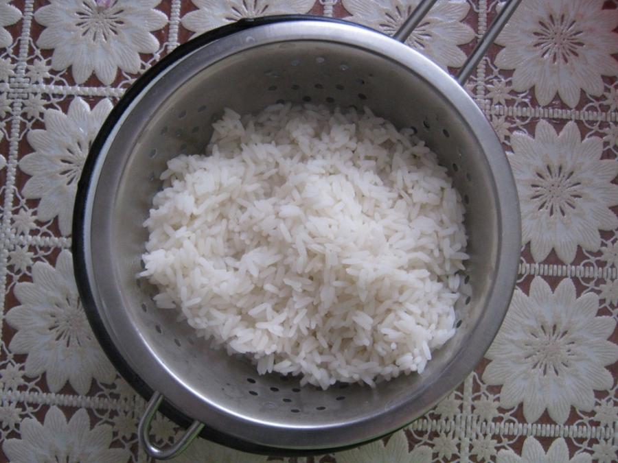 как сварить рис до полуготовности в фарш