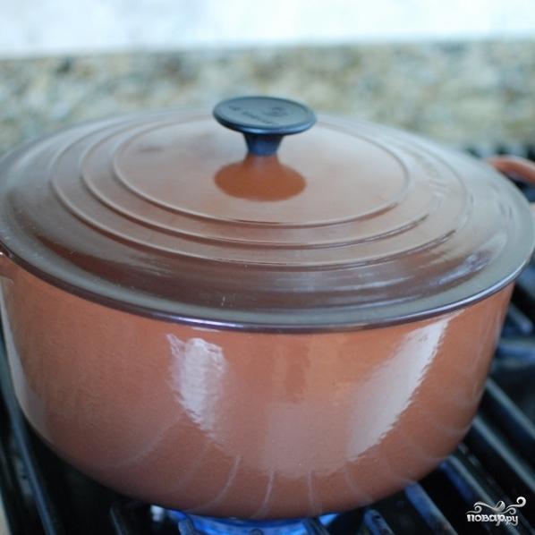 Густой итальянский томатный суп с макаронами и фаршем - фото шаг 11